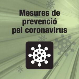 Banner quadrat mesures prevenció covid19