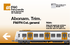 Abon trim FMFN Cat general