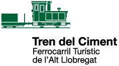Logo Tren del Ciment Ferrocarril Turistic de l'Alt Llobregat