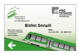 Bitllet senzill