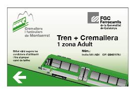 Tren + Cremallera