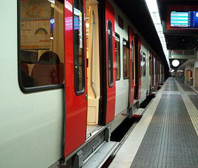 Tren aturat