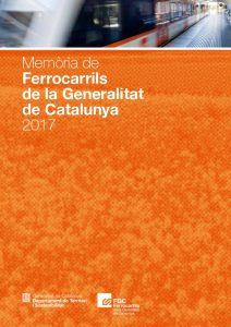 Portada memòria FGC 2017