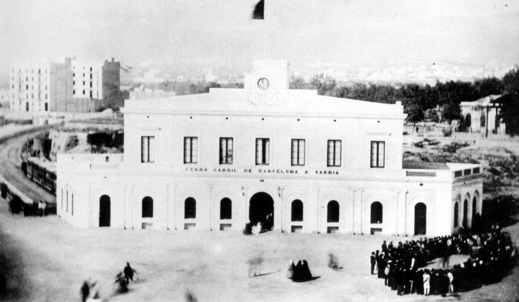 Estació Sarrià antiga