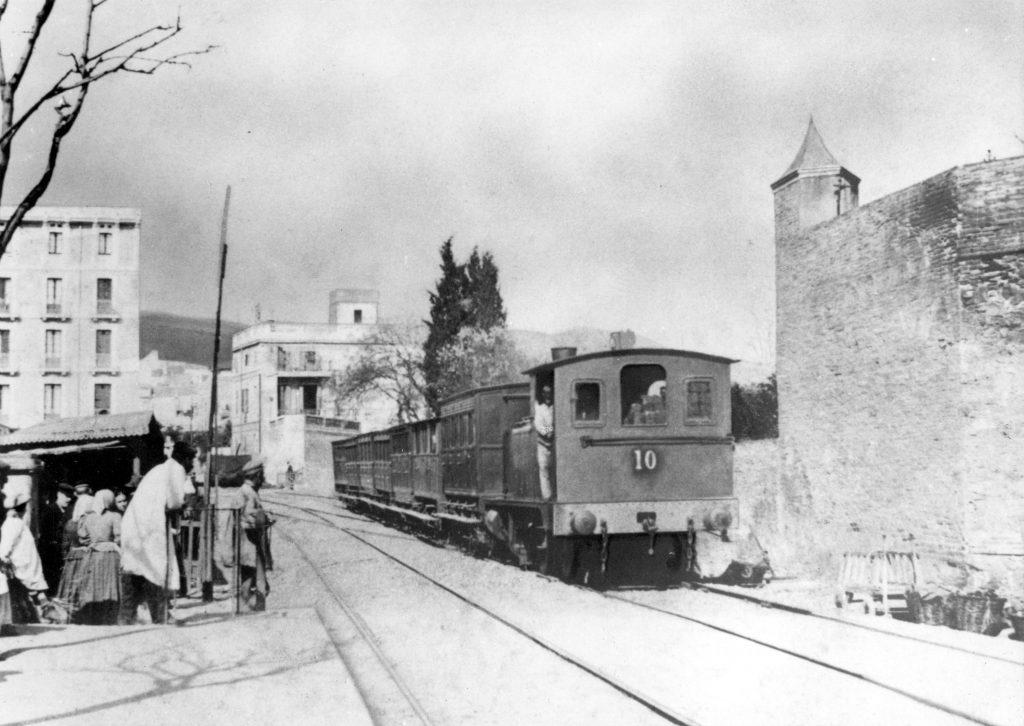 Tren antic