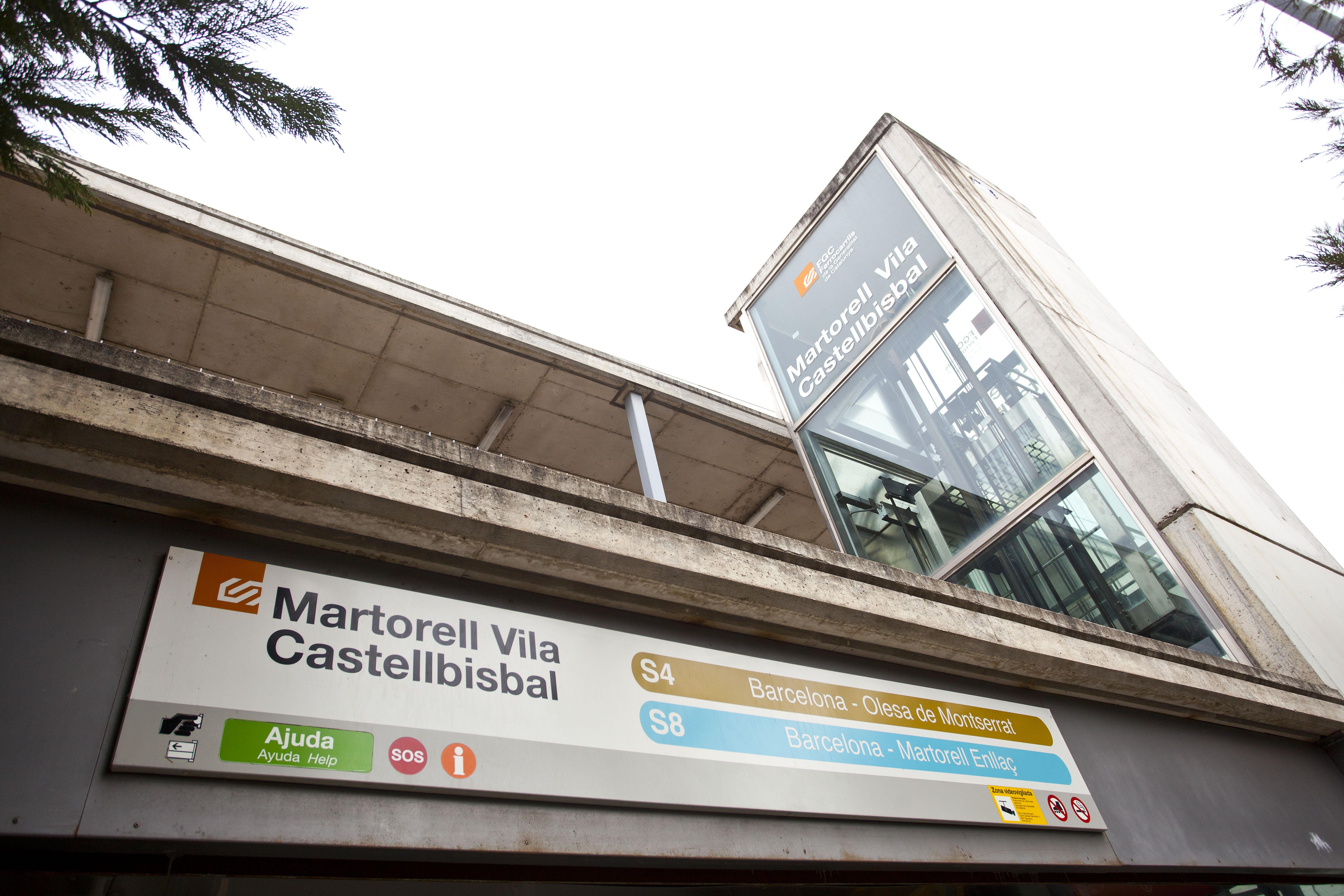 MARTORELL -VILA -CASTELLBISBAL -FGC