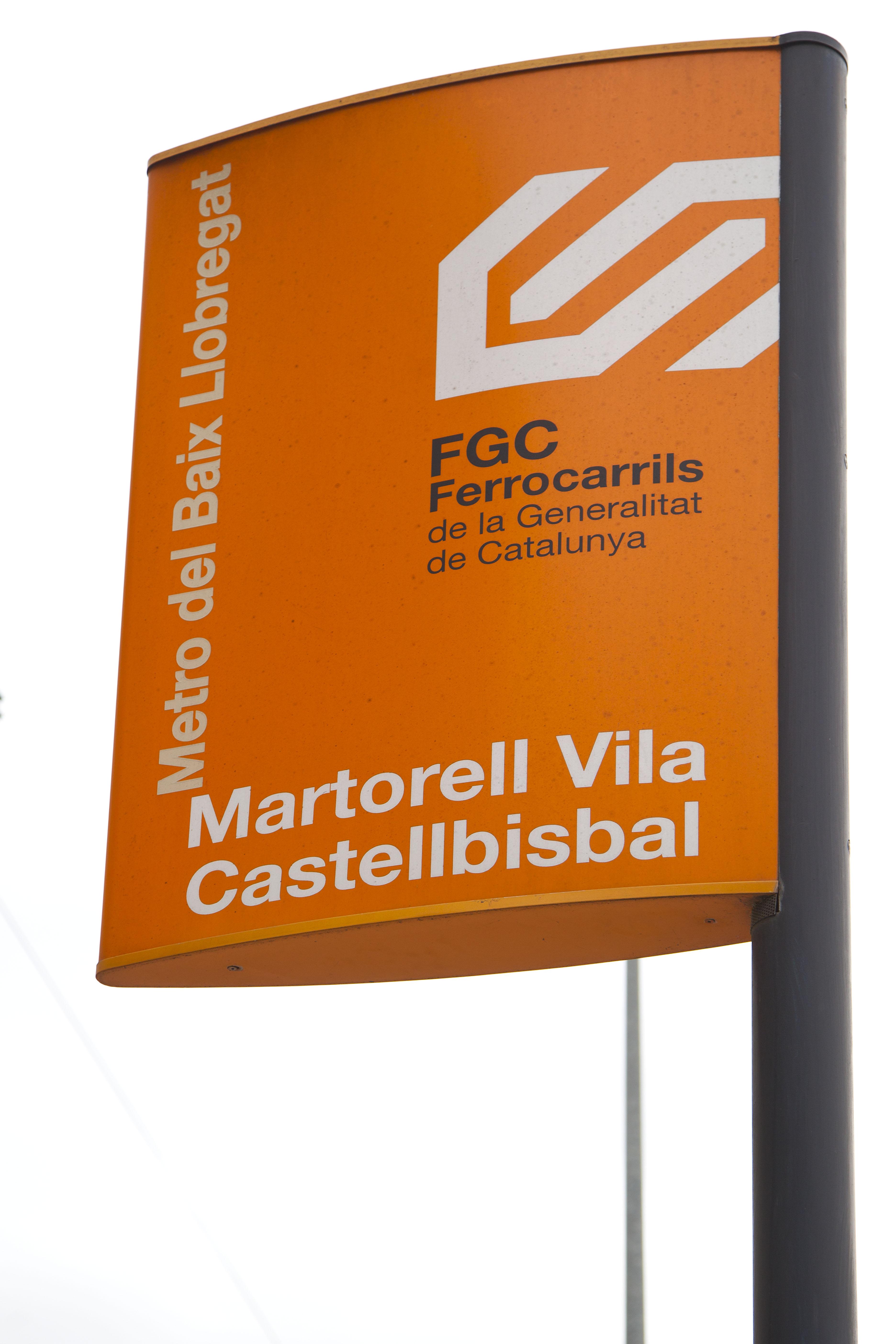 MARTORELL -VILA- CASTELLBISBAL -FGC