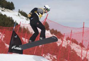 Noi amb snowboard