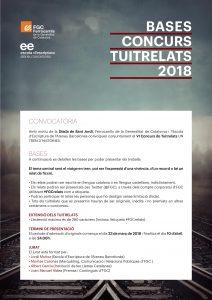 Bases dels Tuitrelats, consurs 2018