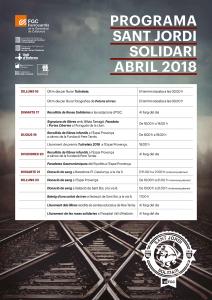 Programa St Jordi solidari any 2018