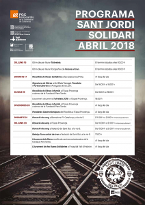Programa Sant Jordi solidari abril 2018 v2