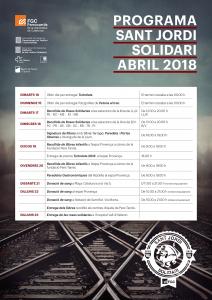 Programa abril 2018 Sant Jordi FGC