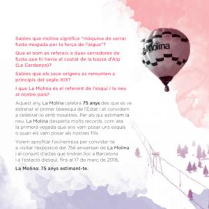 Text de La Molina 75 anys