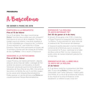 Programa Barcelona