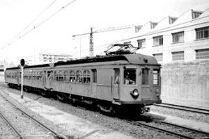 Tren blanc i negre