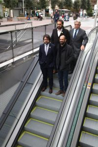 Inauguració estació Sabadell Plaça Major