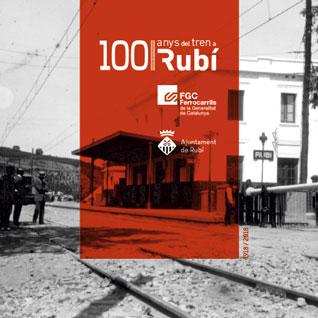 100 anys de tren Rubí