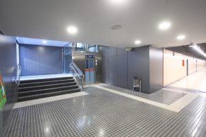 Interior d'una estació
