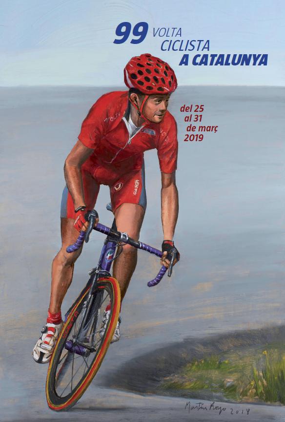 Cartell Volta Ciclista a Catalunya 2019