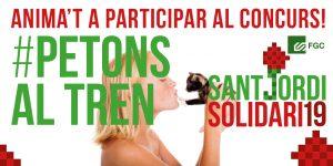Twitter Petons Sant Jordi Solidari 19