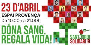 Twitter Sang Sant Jordi Solidari 19