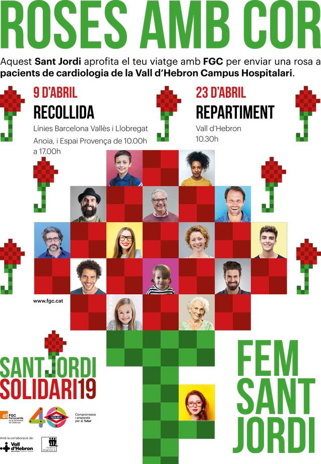 Roses Sant Jordi Solidari 19