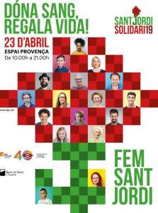 Dona sangre Sant Jordi Solidari 19