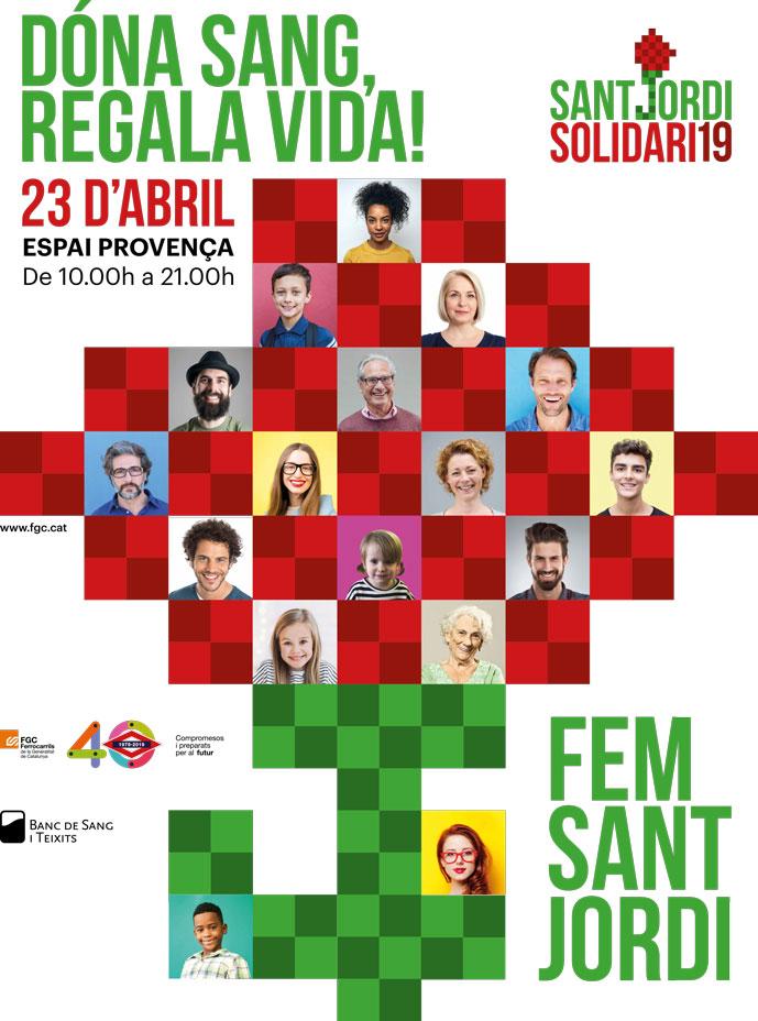 Dona Sang Sant Jordi Solidari 19