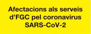 Banner petit afectacions serveis FGC coronavirus