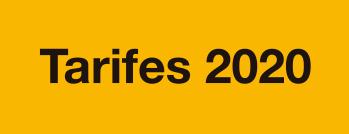 tarifes 2020