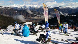 Espot esquí, grup de persones