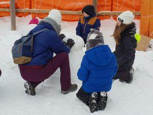 Nens a la neu