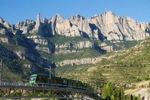 FGC a Montserrat