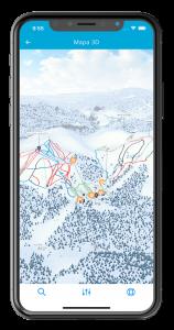 La Molina mapa 3D mòbil