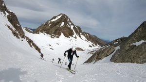 Esquiador a la muntanya
