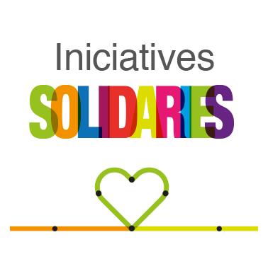 Iniciatives solidàries logo