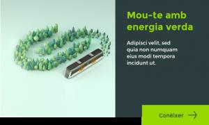 Mou te amb energia verda