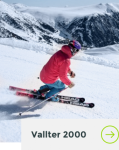 Home esquiant a Vallter 2000