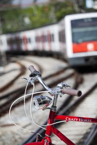 bicycle and train FGC