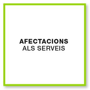 Afectacions als serveis FGC