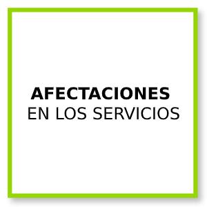 Afectaciones servicios FGC