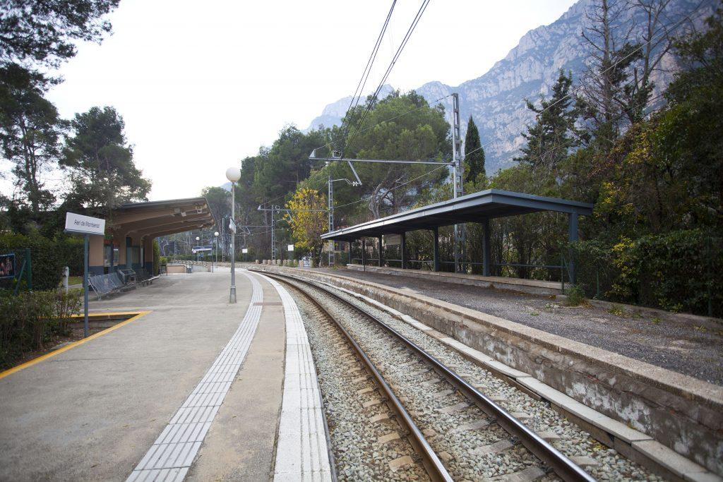 Estació Aeri Montserrat