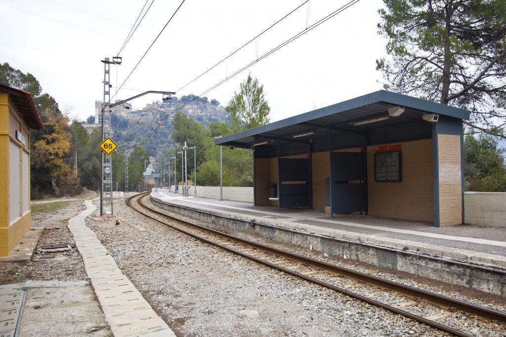 Estació FGC Castellbell Vilar