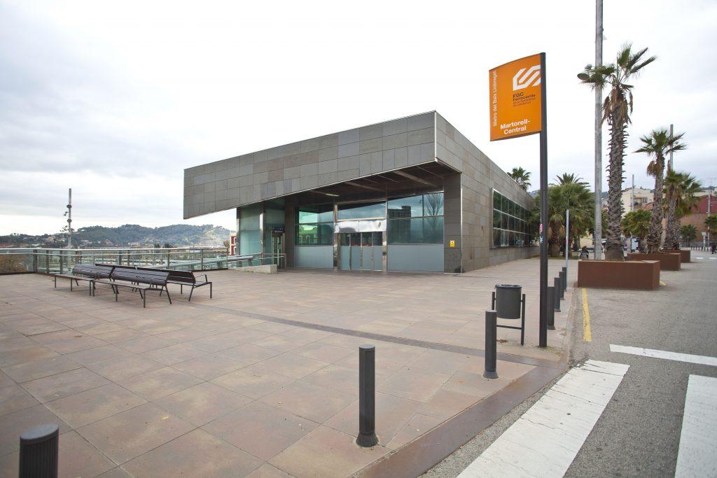 Estació FGC Martorell Central