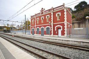 Estació FGC Martorell vila castellbisbal