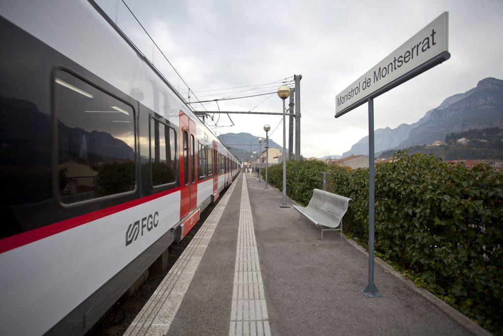 Estació FGC Monistrol de Montserrat
