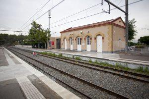Estació FGC Piera