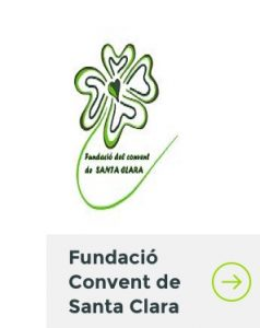 Logo fundacio Convent de Sta Clara