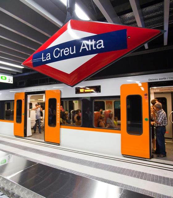 FGC La Creu Alta station