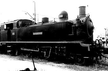 Fotografia antiga locomotora